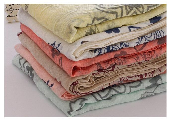 ladies scarves 2015,poncho,cotton scarf,Floral hijab,flower print,Muslim hijab,Scarf women,bandana,shawls and hijabs,desigual(China (Mainland))