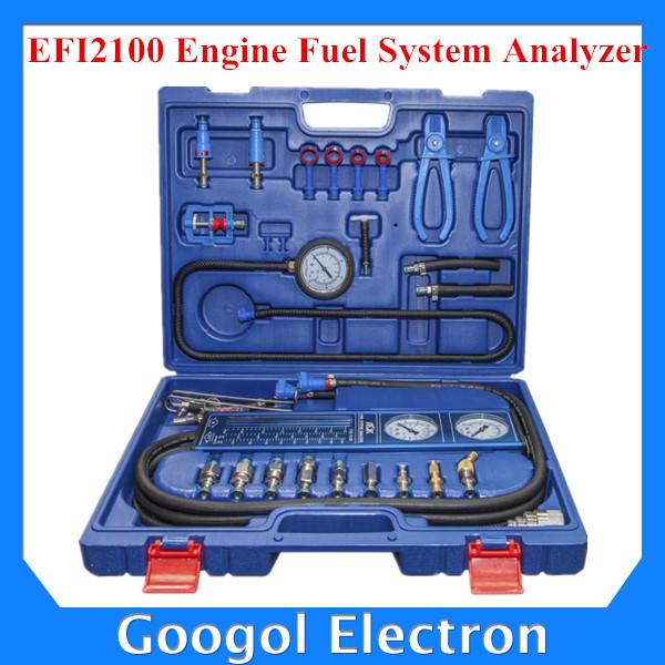 2015 New Arrival EFI2100 Engine Fuel System Analyzer Fuel System Failure Detection Car Engine Analyzer Pro(Hong Kong)