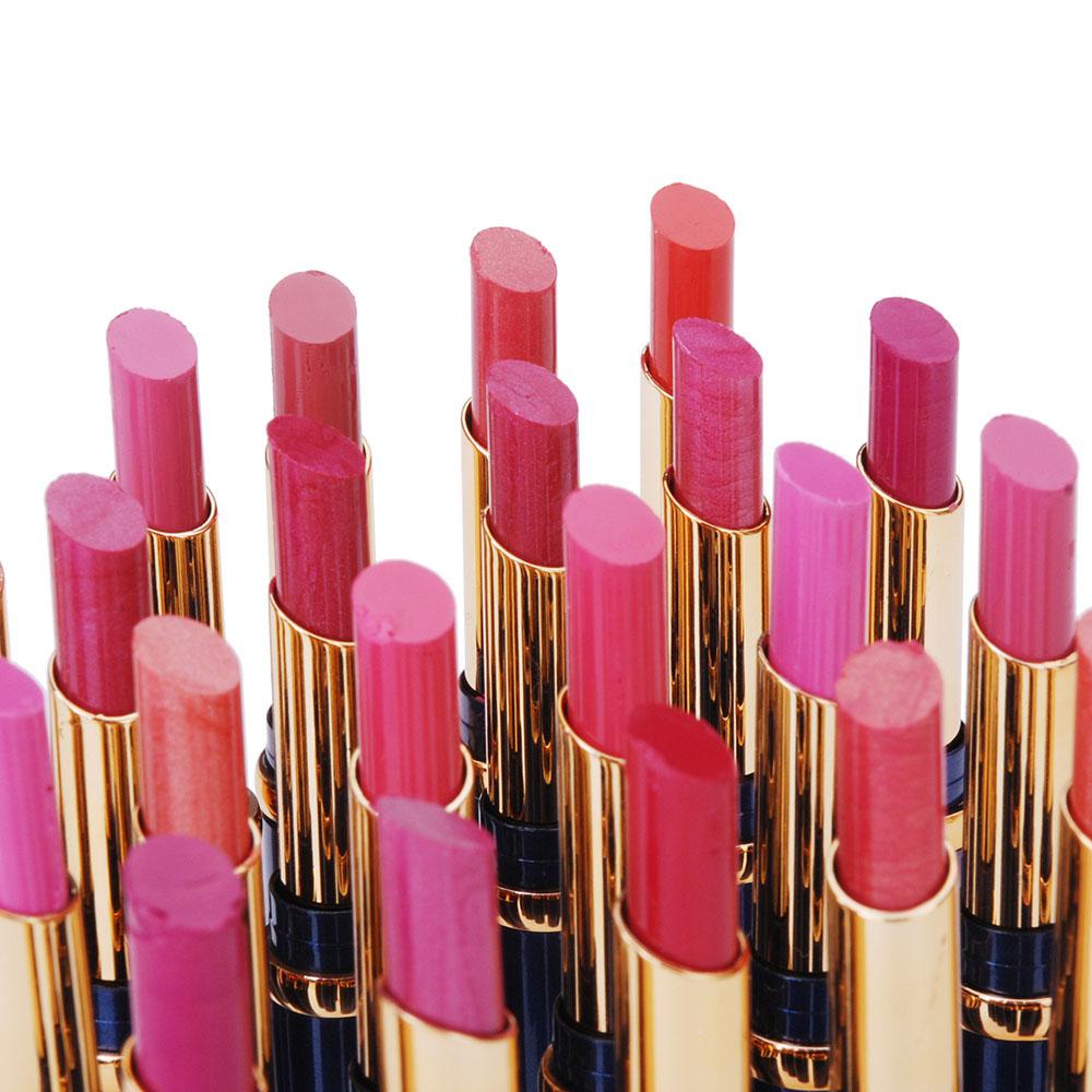 24Pcs Attractive pintalabios Women Lady Girls Lipstick Makeup Cosmetic Sexy Lip Rouge Lipstick beauty(China (Mainland))