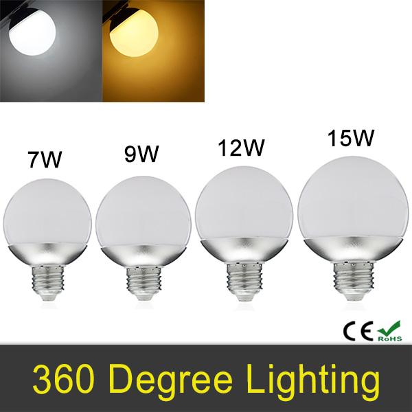 NEW LED Bulb E27 7W 9W 12W 15W 85-265V SMD5730 LED Lamp Global Bulb Light 360 Degree Energy Saving A60 A70 A80 A90(China (Mainland))