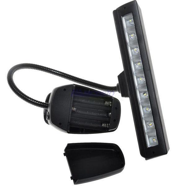 Подсветка для чтения книг Chinacosto 9LED AC + USB +