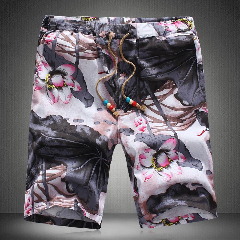 все цены на Мужские шорты OEM m/5xl mma + Slim Lotus camisas 2015 F988631#1P30