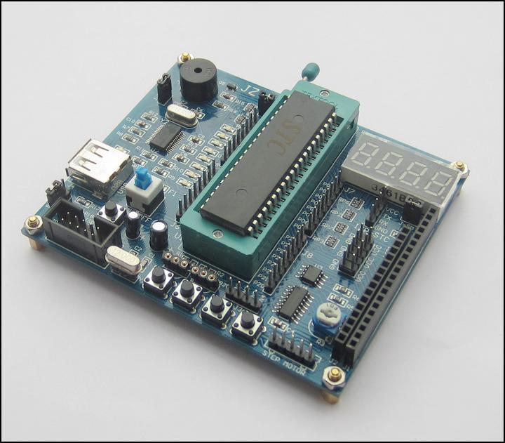 51 microcontroller development board/study 51 single-chip microcontroller learning suite/board/multi-function/attached data(China (Mainland))