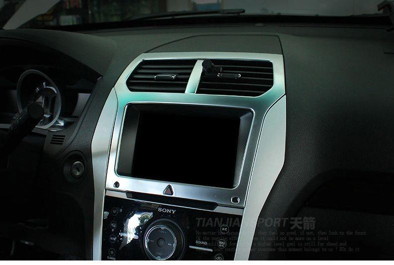 Хромовые накладки для авто ANN ford explorer 2011/2014 авто бу ford trnzit