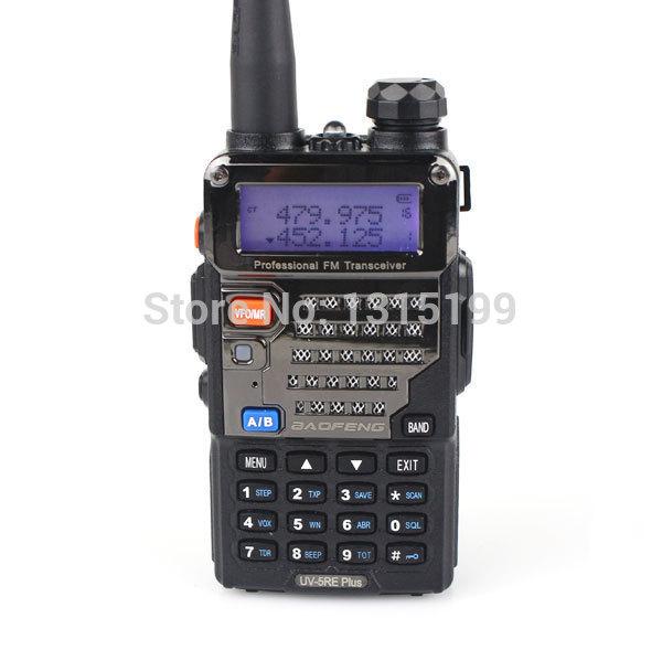 2pcs/lot Dual Band walkie talkie BaoFeng UV-5RE PLUS With Metal Surface 136-174MHz&400-520MHz Waterproof Handheld CB Radio(China (Mainland))