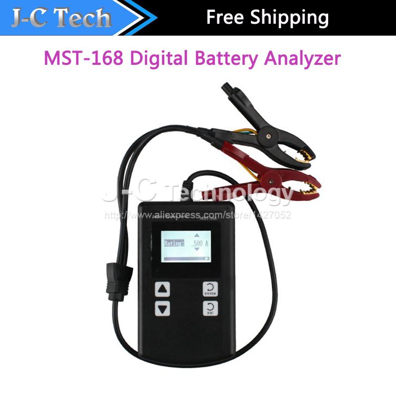 High Quality Portable MST-168 Digital Battery Analyzer support 12V tester Battery Analyzer MST-168(China (Mainland))