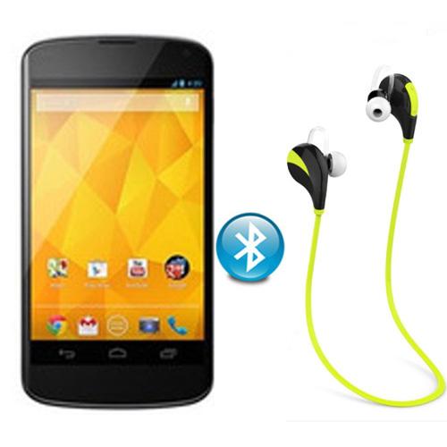 Q5 wireless Bluetooth stereo headphones sports headphones For LG Google Nexus 4 E960 Free Shipping(China (Mainland))