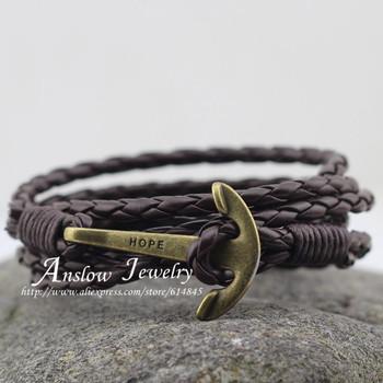 Low0144lb мода ювелирные изделия мужские браслет искусственная кожа 60 см дружба ...