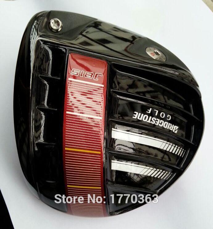 Original BRIDGESTONE J815 Titamium golf driver head 9.5&10.5 deg loft(China (Mainland))