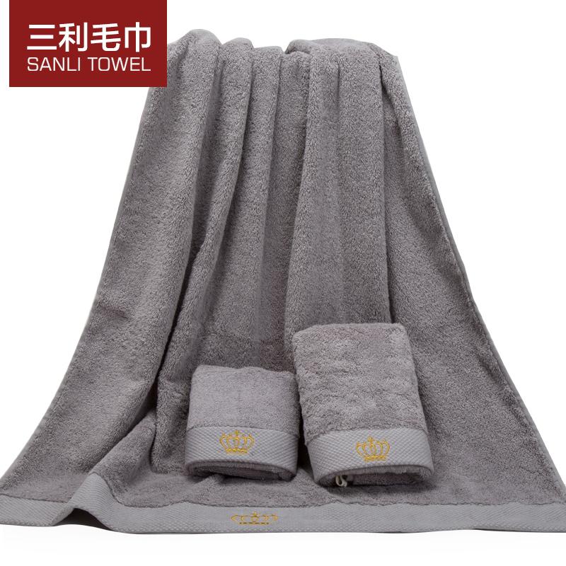towel Sets cotton towel bath towel towel gift set adult soft thick Hotel(China (Mainland))