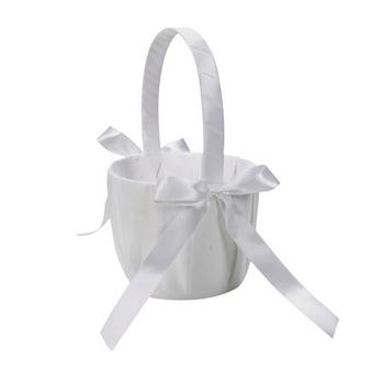 Satin Flower Girl Basket Wedding Ceremony Party Favor for wedding decoration of wedding columns AE02806