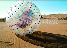Free shipping !!!   Dia 2.5m ball zorb,pump for zorb ball,zorb ball soccer(China (Mainland))