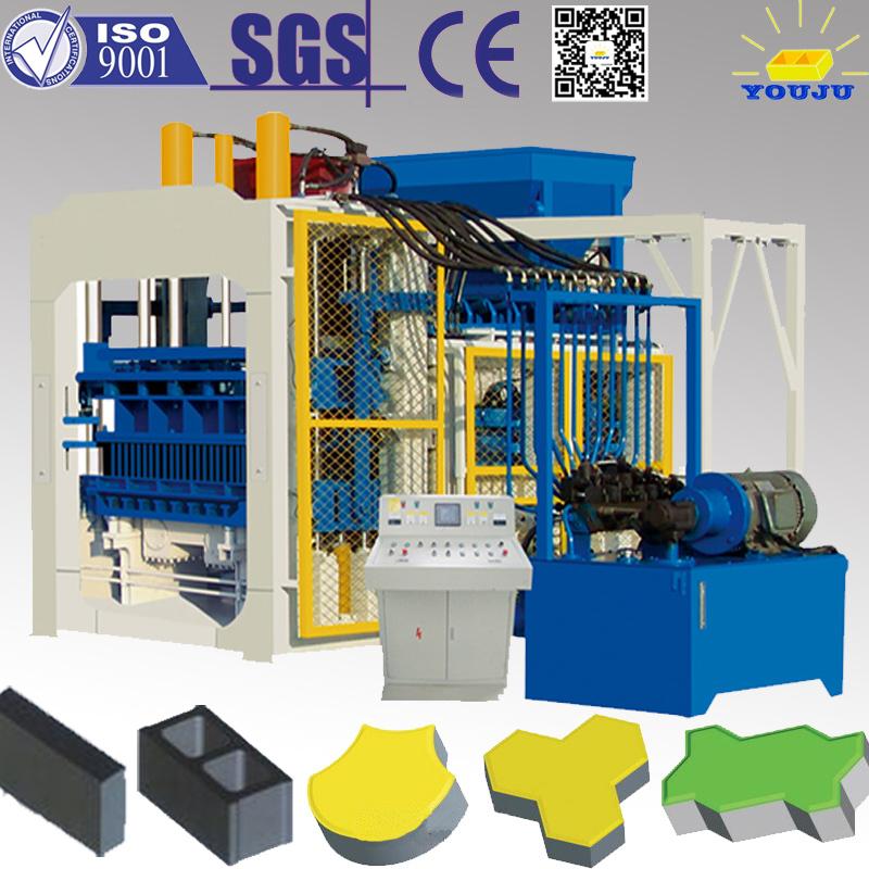 QT10-15 automatic fly ash brick building materials machine(China (Mainland))