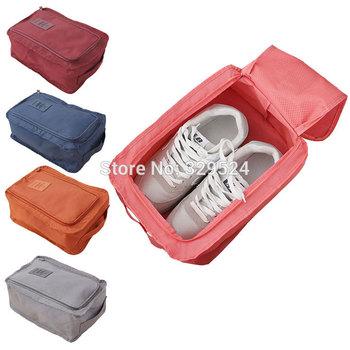 Мужские и женские туристические товары портативный нейлон обуви сумки водонепроницаемый ...