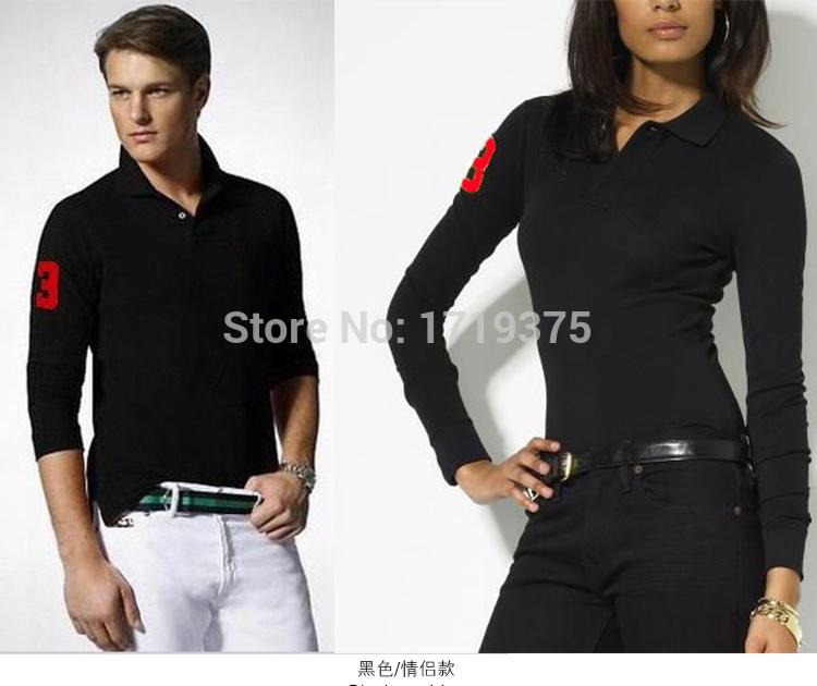 2015 New Fashion Men Cotton Tops & Tees Long Sleeve Polo Shirts Spring Autumn Mens Casual Loose T shirt T-shirt camisetas(China (Mainland))