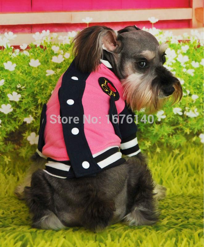 New High Quality Pet Dog Clothing Six Color Sport Dog Baseball Jersey(China (Mainland))