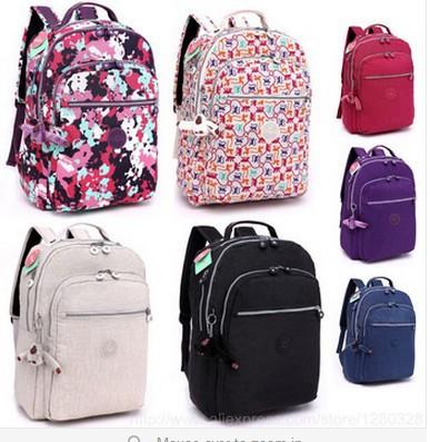 hot sale unique nylon top quality grid monkey star flower zebra bright color mam bag nice kiple backpack children kpl school bag(China (Mainland))