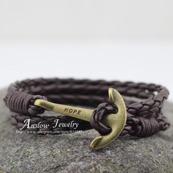 Low0143lb мода ювелирные изделия мужские браслет искусственная кожа 40 см дружба ...