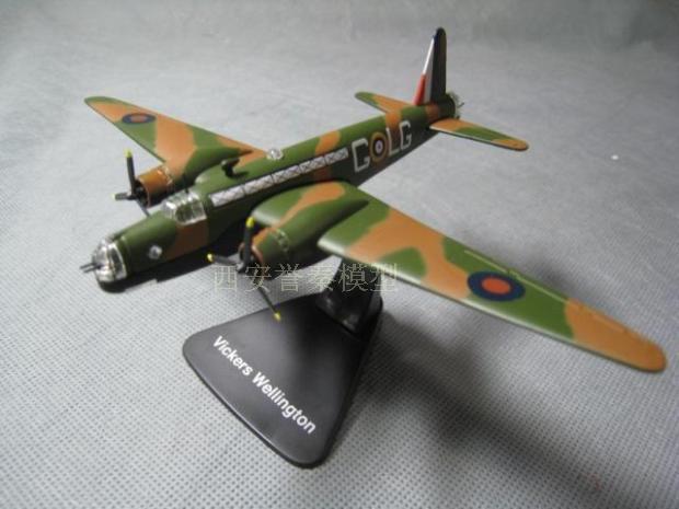 ATLAS 1/144 WWII British vickers Wellington bomber alloy model(China (Mainland))