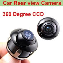 Newest Universal HD CCD Car RearView Camera Parking Camera with 360 Degree Rotation HD night vision view monitor Free shipping(China (Mainland))