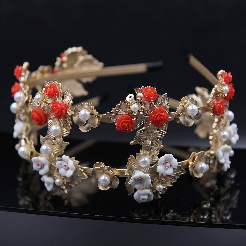 Ювелирное украшение для волос Headband , Baroque Headband rib twist headband