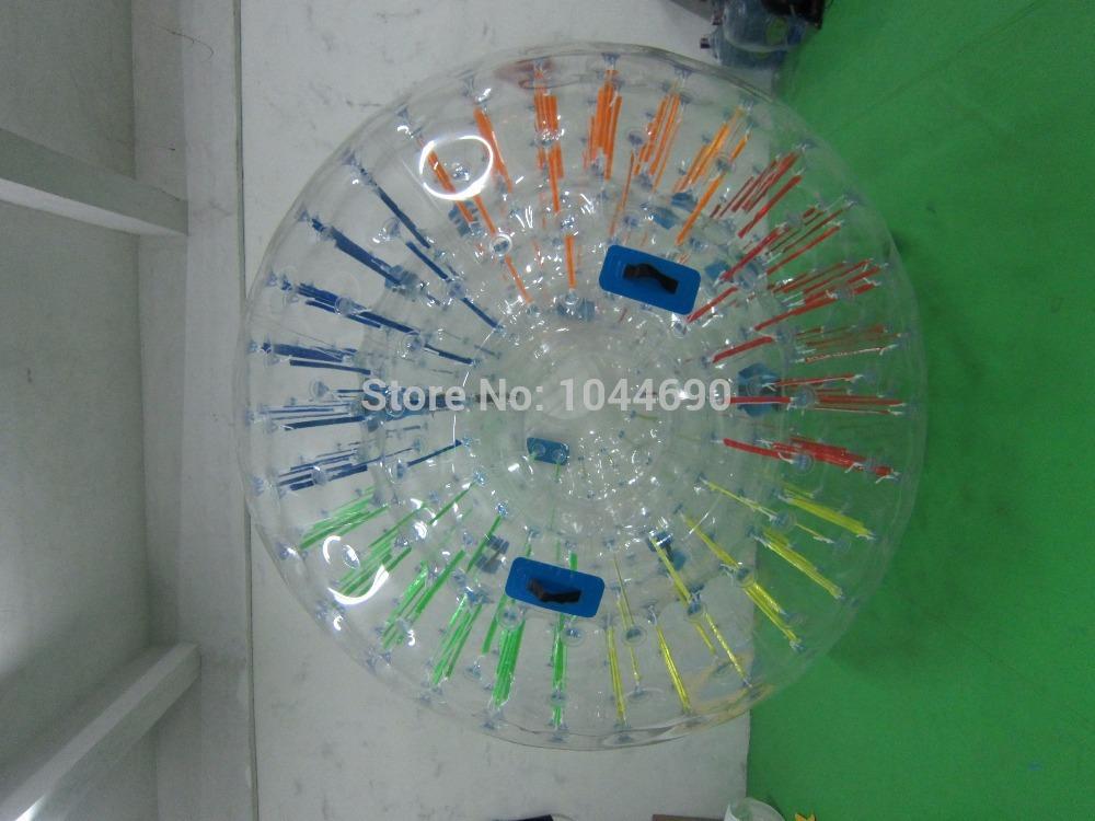 Free shipping 2.5m Dia zorb ball manufacturer,soccer zorb ball,water zorb ball(China (Mainland))