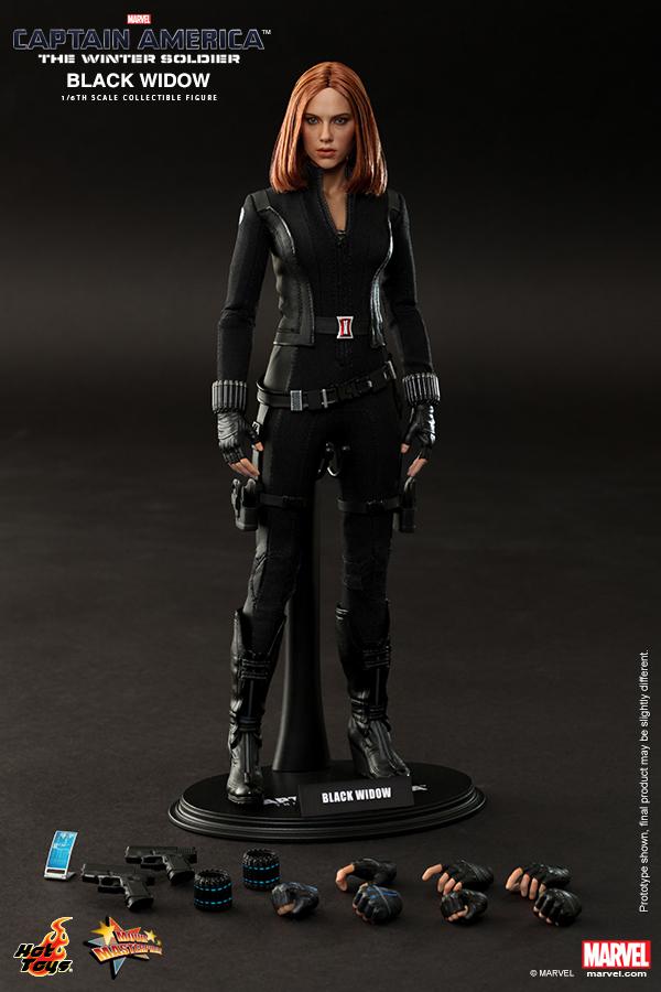 Hottoys1/6th scale Scarlett Johansson Black Widow Ver3.0 Captain ...