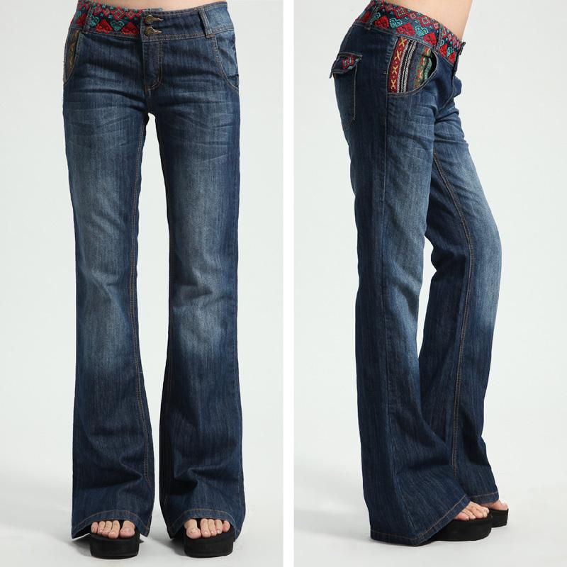 Bling Flare Jeans Leg Flare Jeans For Women