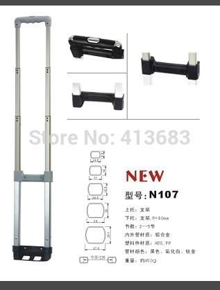 luggage accessories , luggage handle , luggage wheels , luggage parts(China (Mainland))