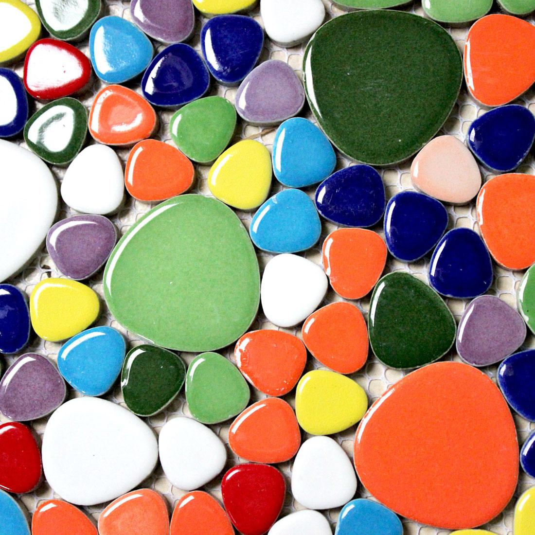 Glastegels In Badkamer ~ kiezel stenen tegels Promotie Winkel voor promoties kiezel stenen