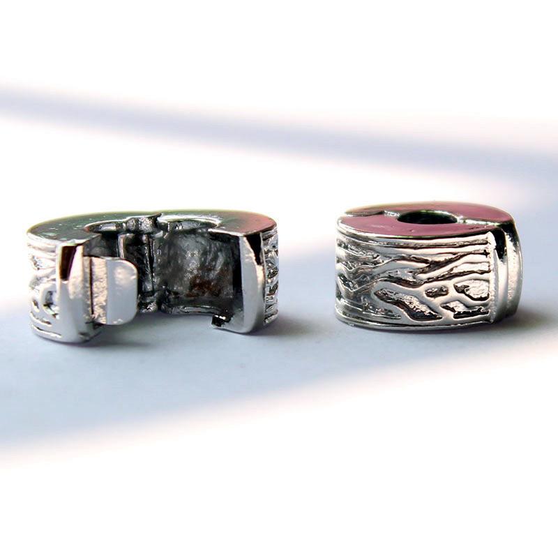 1pcs 925 Silver Safety Stopper European Beads super quality Fit pandora Charms Bracelets necklaces pendants 4