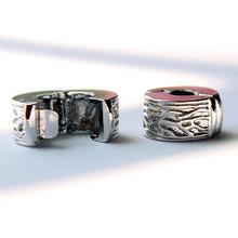 1pcs 925 Silver Safety Stopper European Beads super quality Fit pandora Charms Bracelets necklaces pendants-4