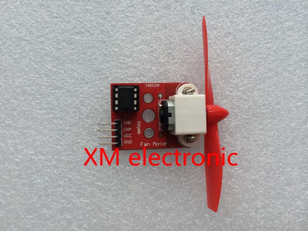 Free shipping L9110 Fan Module for Arduino Robot Design and Development Control 10PCS(China (Mainland))