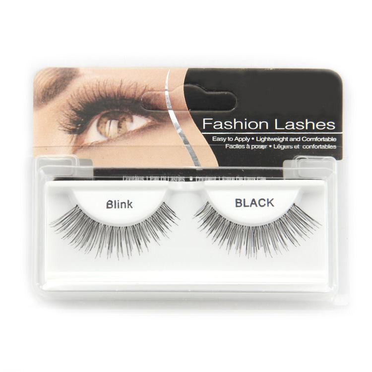 High quality Handmade Black Natural Long Thick False Eyelashes Winged Fake Eye Lashes Makeup Tips Free&Drop Shipping(China (Mainland))