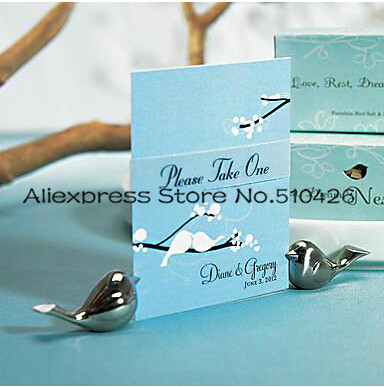 Love Bird Placecard Holders for Wedding Decoration Favors Party Stuff Gifts Supplies Free Shipping 24PCS/LOT(China (Mainland))