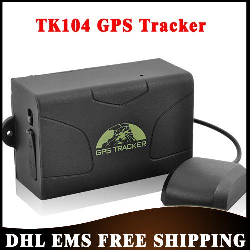 Free DHL 20pcs/lot GSM/GPRS/GPS Car/Vehicle GPS Tracker TK104 Magnet 60days Standby Quad-Band Car GPS Tracking Wholesale(China (Mainland))