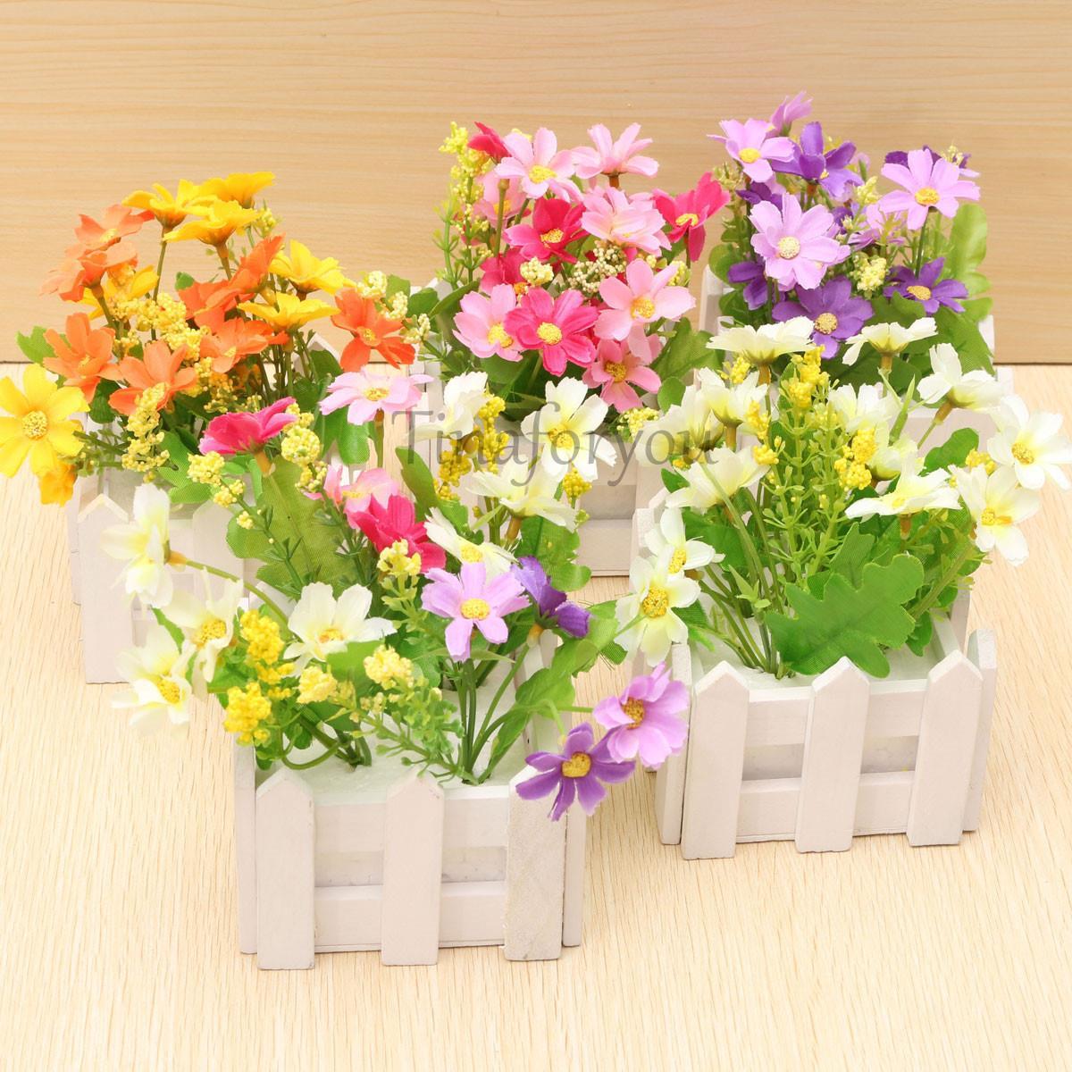 Искусственные цветы для дома New  artifical flower искусственные цветы xiao qian flower 16 100cm