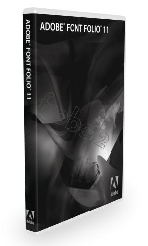 Adobe Font Folio 11 English fonts (including 2400 models beautifully font) Support PC or MAC(China (Mainland))