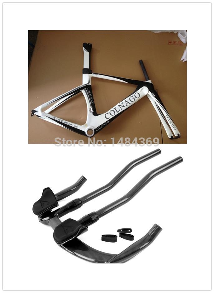 Carbon Time Trial Bike Frame 700C Bike wheels Carbon Fiber Time Trial / TT Bike Frame Fork handlebar Carbon Time Trial Frame(China (Mainland))