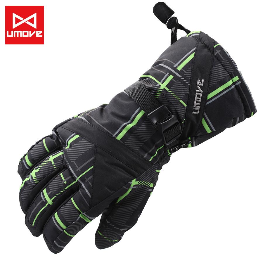 2014 Hot Winter Gloves Snowboard Gloves Men Thick Warm Waterproof Windproof Snow Ski Outdoor Sports Gloves Luva, GL21(China (Mainland))