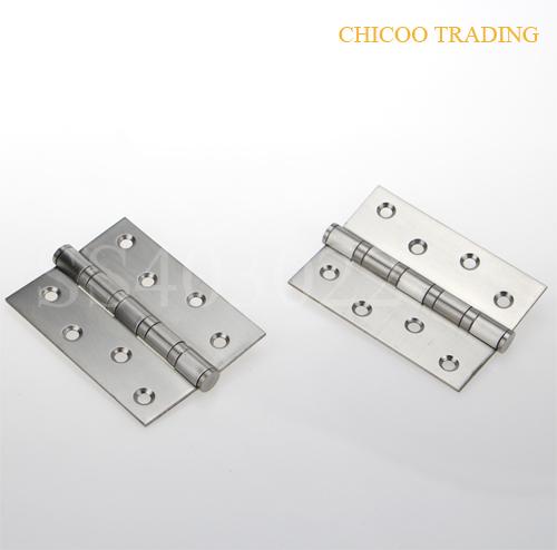 2Pcs Stainless steel 4INCH door Hinge -Satin stainless steel(China (Mainland))
