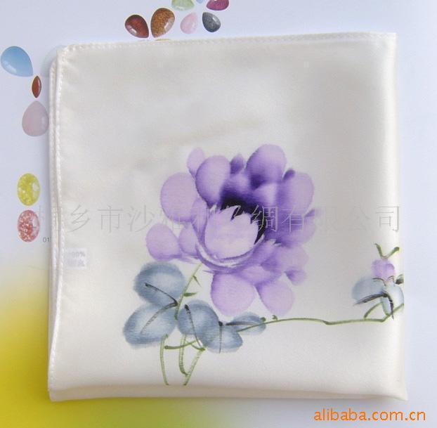 Supply of quality hand-painted silk bandanna, advertising supplies fashion gifts(China (Mainland))