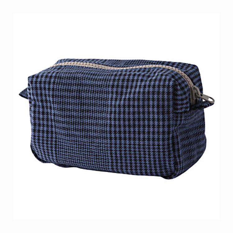 Manufacturers customized Japanese style cotton hand zipper bag ladies fashion makeup man purse bag(China (Mainland))