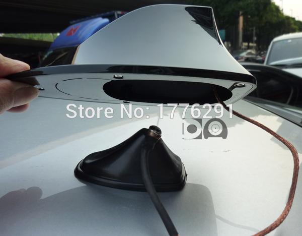 Volkswagen/Vw Golf 1/2/3/4/5/6/7/mk4/mk5/mk6/mk7 Golf Gti Car Radio Antenna Shark Fin Antenna Aerials with Genuine 3M Adhesive(China (Mainland))