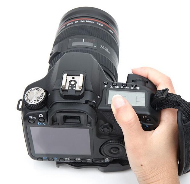 High Quality Black camera photo accessories Camera Leather Wrist Strap/Hand Grip for Canon Nikon Sony SLR/DSLR digital camera(China (Mainland))