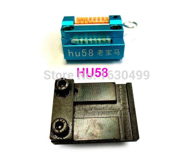 Pour 2015 HU58 BMW ( anciens modèles ) manuel tailler les clés Machine Support tous clé perdue, Moules clés, Livraison gratuite(China (Mainland))