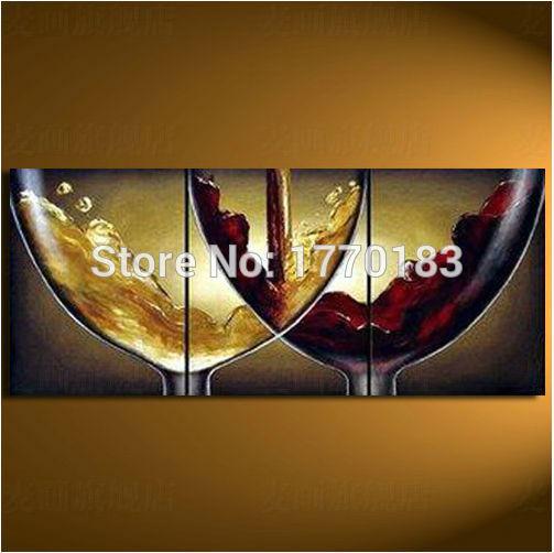 Online Kopen Wholesale Geschilderde Glazen Wijn Uit China