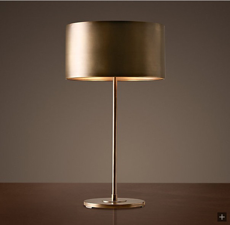 American country style classic retro copper gold selling fine gentleman lamp 8847(China (Mainland))