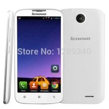 Original Cell Phones Lenovo A560 5.0″ Qualcomm Quad Core 1.2GHz Android 4.3 Dual Sim 3G WCDMA 2.0MP Camera 512MB/4GB