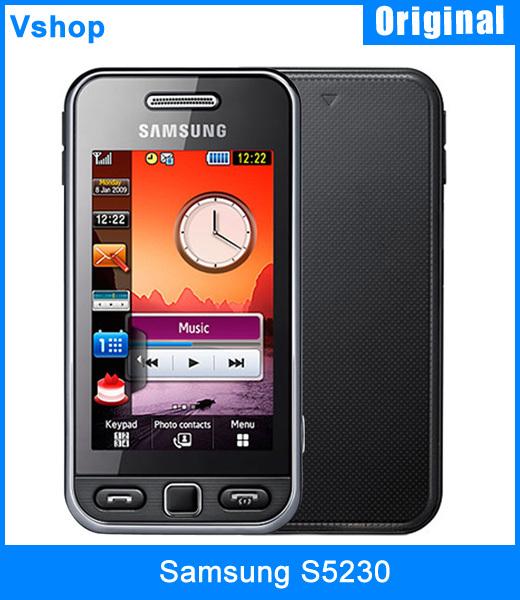 Мобильный телефон Samsung S5230 Bluetooth GSM 3.0 samsung s5230 в краснодаре